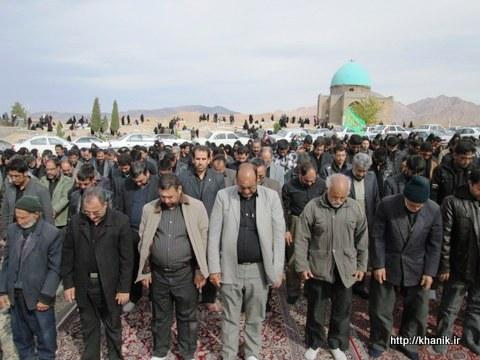 نماز ظهر عاشورا امامزاده خانیک 1392