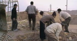 تصاویری از مراحل ساخت حسینیه خانیک + نماهنگ