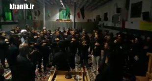 گوشه ای از مراسم شام غریبان شهدای کربلا- خانیک ۱۳۹۸